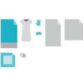 Комплект белья акушерский для рожениц КБР-2S2