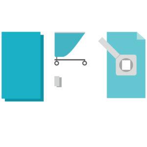 Комплект белья и одежды стерильный для операционных КБО-14.1