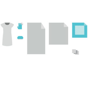 Комплект белья акушерский для рожениц КБР-12S2