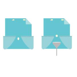 Простыни для операций в перинеальной области