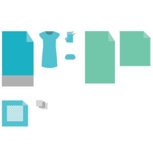 Комплект белья акушерский для рожениц КБР-2