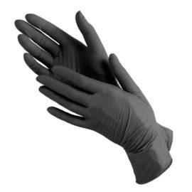 Перчатки нитриловые плотные EleGreen, S, 9 гр, 50 пар