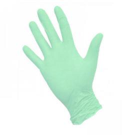 Перчатки нитриловые MediOk, M, зеленые, 8 г, 50 пар