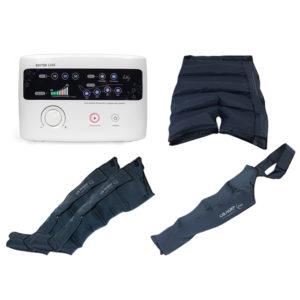 Аппарат – прессотерапия (лимфодренаж) LX7 + шорты для похудения + манжеты для ног + манжета на руку