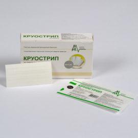 Стерильные пластырные полоски для сведения краев ран - Круострип (0,6x7,5 см) 20 шт
