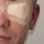 Стерильная глазная повязка самофиксирующяся - Артофикс (5х7.5 см) бежевый, 50 шт