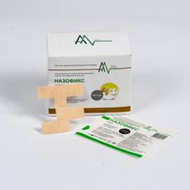 Повязка для фиксации назальных катетеров - Назофикс (6x8 см) 100 штук