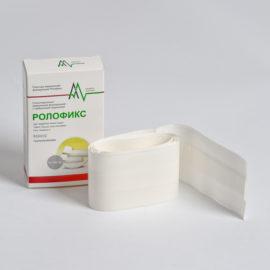 Рулонный фиксирующий пластырь на нетканой основе с сорбционной подушечкой - Ролофикс (8 x 100 см) 1 шт