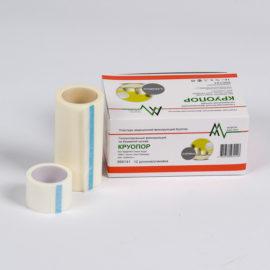 Фиксирующий рулонный пластырь на бумажной основе - Круопор (5 x 500 см) 6 шт