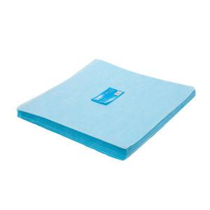 Салфетки одноразовые 40х40, голубые, 200 шт (7393)