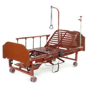 Кровать электрическая с туалетным устройством и функцией «кардиокресло» YG-2 (МЕ-2128Н-00)