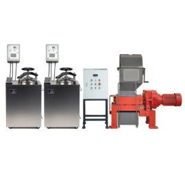 Установка для обезвреживания и измельчения медицинских отходов «БАЛТНЕР®II-Ш100»