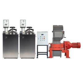 Установка для обезвреживания и измельчения медицинских отходов «БАЛТНЕР®II-Ш 200 некст»