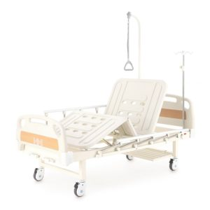 Кровать механическая Е-8 (MM-2014Н-02) (2 функции) с полкой и столиком