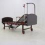 Кровать механическая YG-6 (MM-2124Н-11) ,темный премиум с туалетным устройством и функцией «кардиокресло»