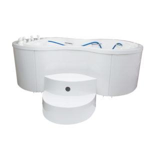 """Ванна водолечебная """"Хаббарда"""" (Губбарда) для подводного душ-массажа (1700/1305 л.)"""