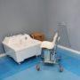Подъемник для опускания пациента в ванну (для камерных ванн)