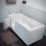 Пароуглекислая ванна «Оккервиль Комби» (с дверцей)
