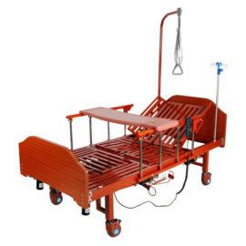 Кровать электрическая YG-3 (МЕ-5228Н-00) с боковым переворачиванием, туалетным устройством и функцией «кардиокресло»