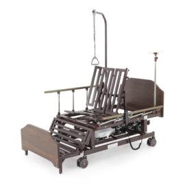 Кровать электрическая DB-11А (МЕ-5228Н-12) с боковым переворачиванием, туалетным устройством и функцией «кардиокресло»