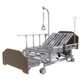 Кровать электрическая DB-11А (МЕ-5228Н-00) ЛДСП с боковым переворачиванием, туалетным устройством и функцией «кардиокресло»