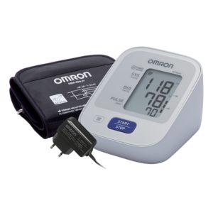 Тонометр OMRON M2 Basic c адаптером и универсальная веерообразная манжета (22-42 см)