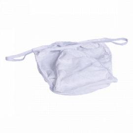 Трусы мужские бикини, белые, 25 шт (00-200)