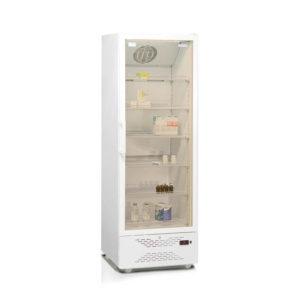 Фармацевтический шкаф-витрина со стеклянной дверью Бирюса 450S-R