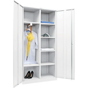 Медицинский шкаф для одежды МД 2 ШМ