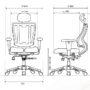 Ортопедическое кресло HARA URUUS